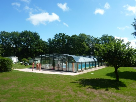 Picture of covered swimming pool